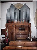 TQ7924 : St James the Great, Ewhurst Green: organ by Basher Eyre