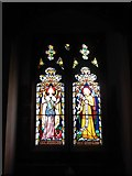 TQ7924 : St James the Great, Ewhurst Green: stained glass window (c) by Basher Eyre