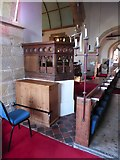 TQ7924 : St James the Great, Ewhurst Green: pulpit by Basher Eyre