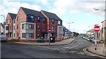 J3731 : Choice Housing Apartments in Donard Street, Newcastle by Eric Jones