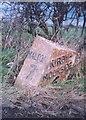SE7479 : Old Milepost by Milestone Society