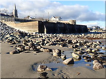 J3730 : The sea water Rock Pool at Newcastle by Eric Jones