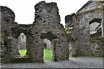 SX1061 : Restormel Castle: The Guardroom by Michael Garlick