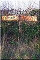 NY6715 : Old Direction Sign - Signpost near Drybeck Hall, Hoff Parish by Milestone Society