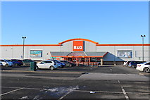 NS2742 : B&Q at Hawkhill Retail Park, Stevenston by Billy McCrorie
