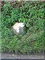 SU5651 : Old Milestone by the B3400, Clarken Green, Oakley Parish by K Lawrence