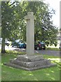 NZ1716 : Old Central Cross - moved by Milestone Society