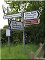SO4890 : Old Direction Sign - Signpost by Milestone Society