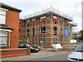 SJ9291 : Housing construction at Bredbury Curve by Gerald England