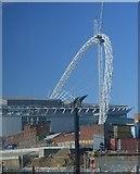 TQ1985 : Wembley Arch by N Chadwick