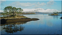 NG8133 : Loch Carron by Duncraig Station by Julian Paren