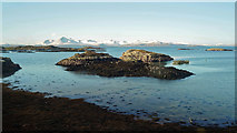 NG7528 : Islets near Kyle of Lochalsh by Julian Paren