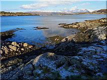 NG7527 : Coast of the Plock of Kyle by Julian Paren