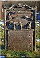 NX6378 : A gamekeeper's gravestone at Kells Parish Churchyard by Walter Baxter