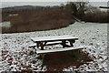 SX8764 : Picnic table, Gallows Gate by Derek Harper