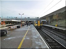 SP3378 : Coventry Station, Platform 3 by Mike Faherty