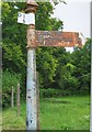 ST2213 : Old Direction Sign - Signpost by Milestone Society