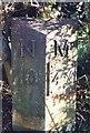 NZ2179 : Old Milepost by IA Davison