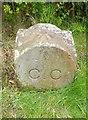 NY4157 : Old Boundary Marker by Milestone Society