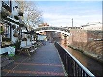 SP0686 : Birmingham, Bar Lock Footbridge by Mike Faherty
