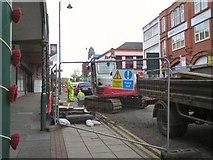 SJ9495 : Major repairs on Market Street by Gerald England