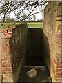 SP6988 : Shelter entrance by Dave Thompson