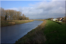 TF5902 : River Great Ouse from Downham Bridge by Robert Eva