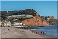 SY1287 : Sidmouth beach by Ian Capper