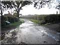 SO4898 : Ford on a minor road, south of Longnor by Eirian Evans