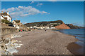 SY1286 : Sidmouth beach by Ian Capper