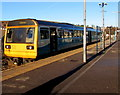 ST0894 : Merthyr Tydfil train in Abercynon station by Jaggery
