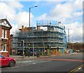 SJ8896 : Demolition of Gorton Bank by Gerald England