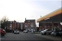 SP2054 : Petrol station on Shipston Road, Stratford-upon-Avon by David Howard