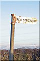 NY5424 : Old Direction Sign - Signpost by Milestone Society