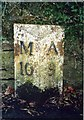 NU1800 : Old Milepost by IA Davison