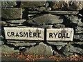 NY3406 : Old Boundary Marker by Milestone Society