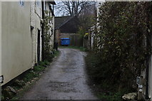 ST6601 : Mill Lane, Cerne Abbas by Chris Heaton