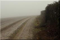 ST6902 : Thick Mist on the Wessex Ridgeway by Chris Heaton