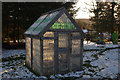NH7084 : Plastic Bottle Greenhouse, Edderton Primary School, Scottish Highlands by Andrew Tryon