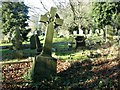 TG2108 : The grave of Frederick Augustus Bower by Evelyn Simak