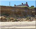 TM5178 : Erosion at Easton Cliffs by Mat Fascione