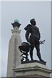 SX4753 : Drake and Naval Memorial by N Chadwick