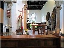 NZ1826 : St Helen Auckland parish church interior by Stanley Howe