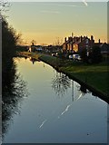 SK8975 : Fossdyke at Saxilby by Neil Theasby