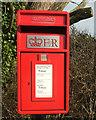SW8975 : Postbox, Windmill by Derek Harper