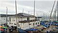 SZ0378 : Swanage Sailing Club by Phil Champion