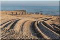 TQ6604 : Beach, Pevensey Bay by Ian Capper