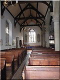 SP2760 : Inside St Peter, Barford (A) by Basher Eyre