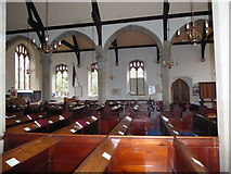 SP2760 : Inside St Peter, Barford (C) by Basher Eyre