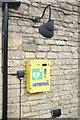 TF0039 : Defibrillator at the pub by Bob Harvey